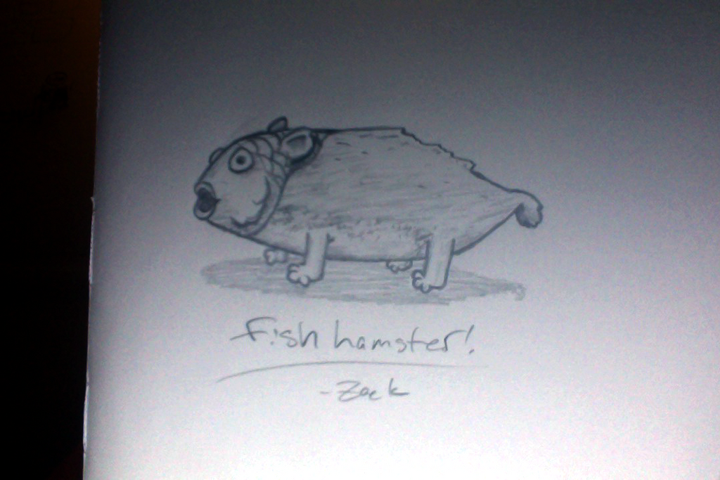 Fishhamster by endosage