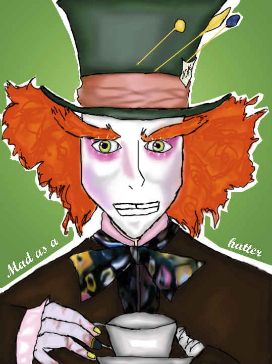 Mad as a Hatter by chibiviolinist