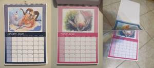 monthly wall calendar 2020
