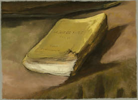 Digital study, Van Gogh 'Still life with bible'