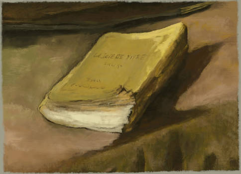Digital study, Van Gogh 'Still life with bible'