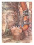 Aquarelle, Heavy Industry by Sekemolados
