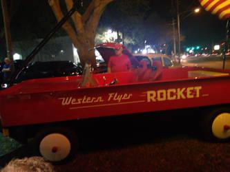Not so little red wagon by SportsLunatic