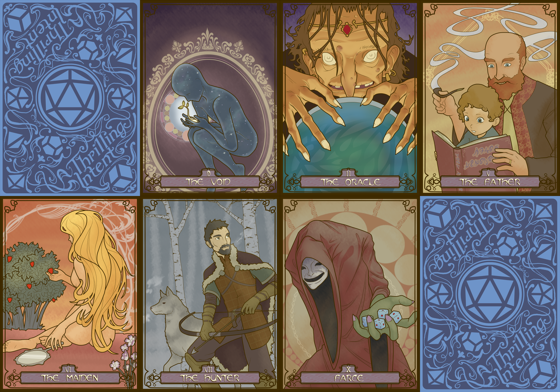Cards of the deck of disaster by framedodge on deviantart for Farcical episode crossword