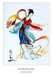 Geisha, standing by crh