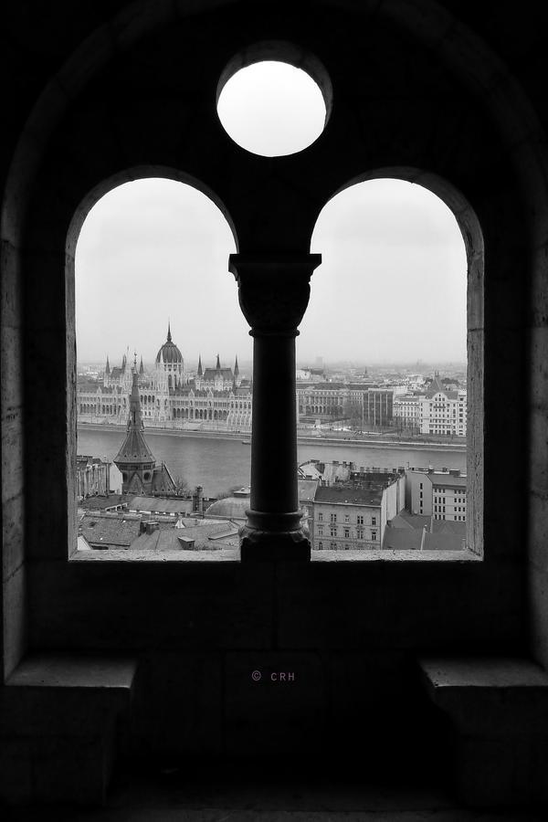 view from Halaszbastya by crh