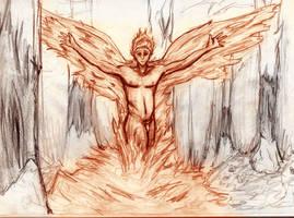 spirit of the phoenix by thereisnosaurus