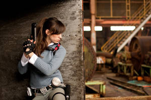Lara croft Kazakstan by pitchoonett