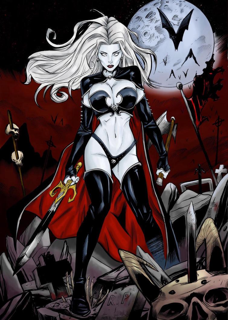 Lady Death by Drakon-Art
