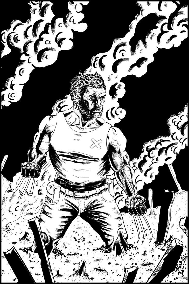 Wolverine by ElieBongrand
