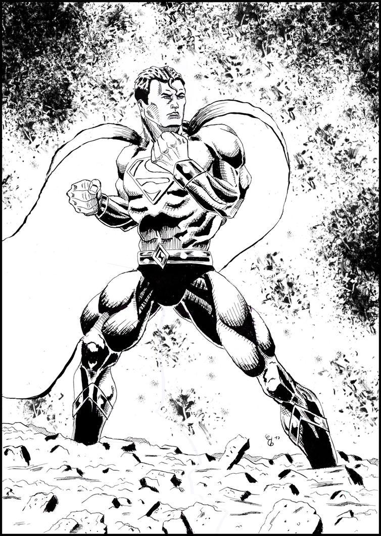 Superman by ElieBongrand
