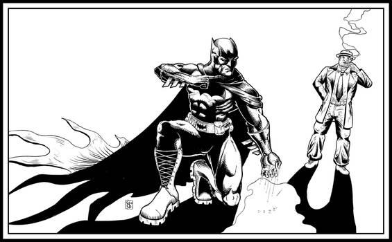 Batman and Harvey Bullock (The Comedian's Taboo)