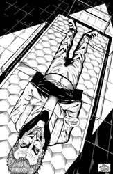 The Joker in Arkham by ElieBongrand