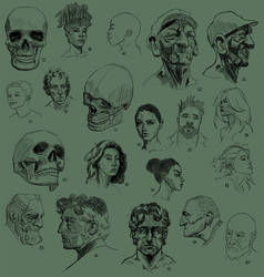100-head challenge Part One by ElieBongrand