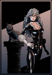 Black Cat (color version) by ElieBongrand