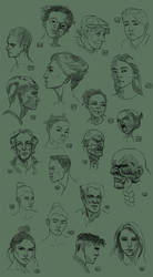 100-head challenge Part Two by ElieBongrand