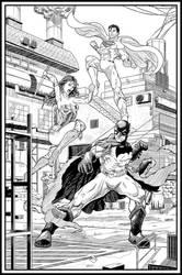 DC's Trinity by ElieBongrand