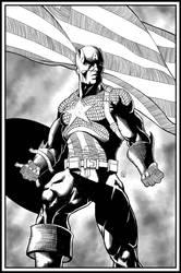 Captain America by ElieBongrand