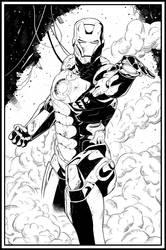 Iron-Man by ElieBongrand