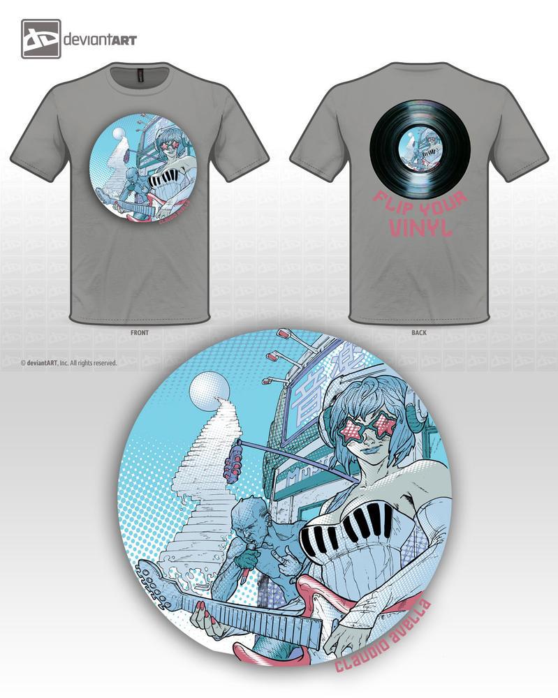 Flip your Vinyl by StarExtinction