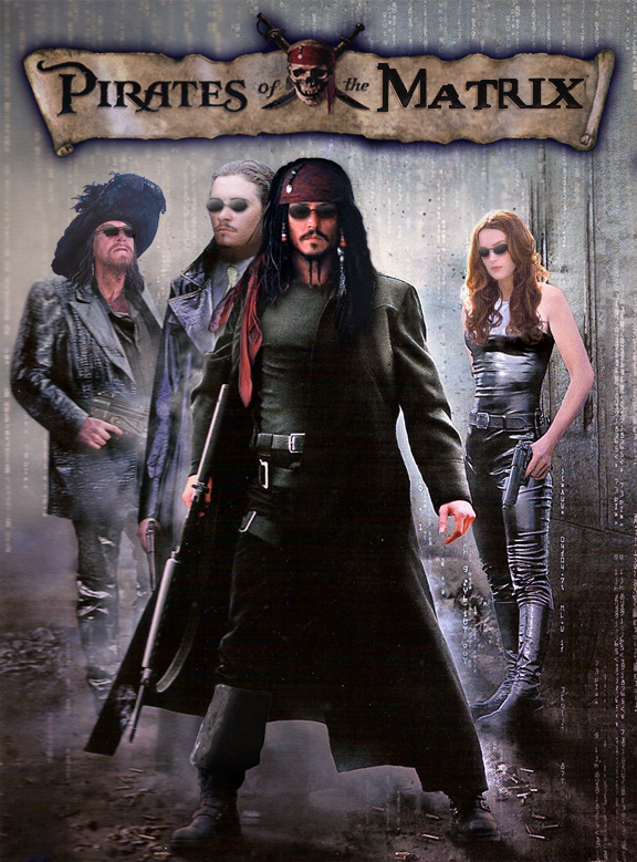 Pirates of the Matrix by ScaperDeage