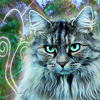 Ceilican Forest Cat 100x100 by ScaperDeage