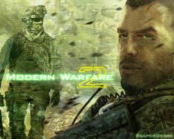 Modern Warfare 2 Wallpaper by ScaperDeage
