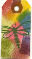 Taglet - Rainbow Butterfly