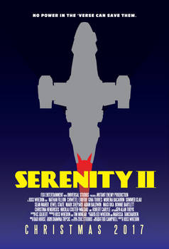 Serenity - Serenity II Movie Poster