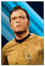 Star Trek, 'Capt. Kirk (Low Poly)'