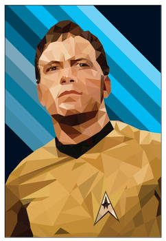 Star Trek, 'Capt. Kirk (Low Poly)'