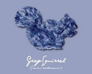Pride Month - Blue (Squirrel)