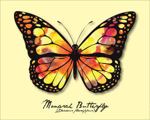 Pride Month - Yellow (Monarch Butterfly)