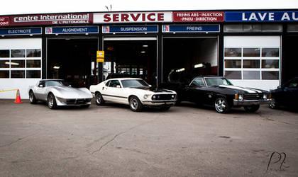 Corvette, Mustang, el Camino. by hxcitdiestoday