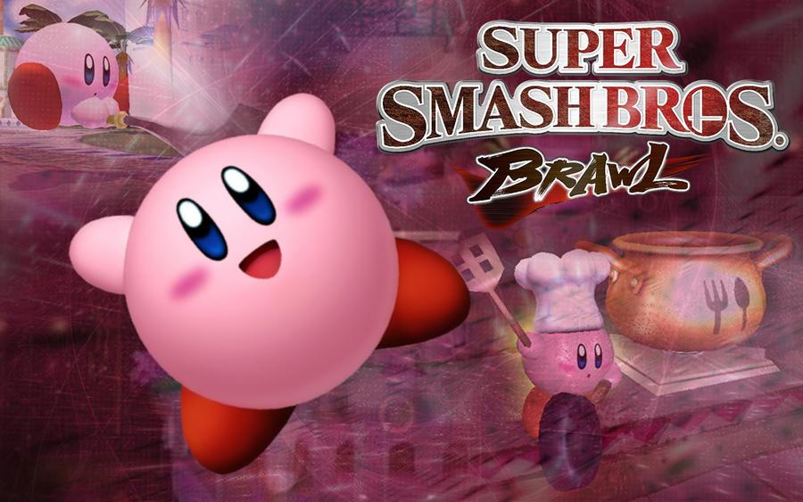 Kirby Super Smash Bros Wallpaper