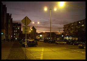 Evening in Gdansk by zdzichu