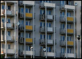 Claustrophobics Balconies by zdzichu
