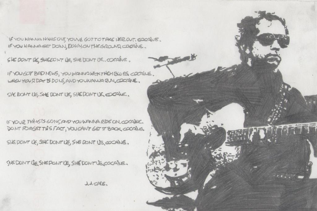 Lyric lyrics to cocaine : Cocaine- J.J.Cale by Tanurel on DeviantArt