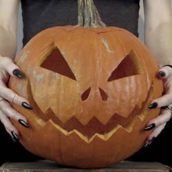 Mine Pumpkin by TrueCrimeberry