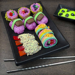 Candy Sushi by TrueCrimeberry