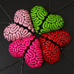 I Heart Brains by TrueCrimeberry