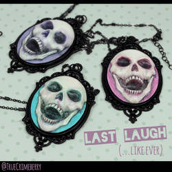 Pastel Skull Necklaces