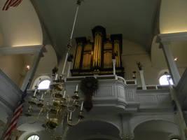 Boston's old pipe organ by cloud00101