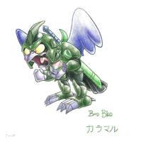 Bad Bird by A-Little-Tea-Rat