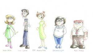 Inside Out as Humans