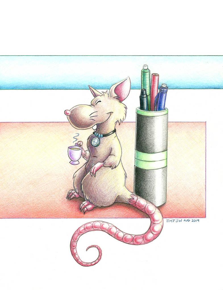 My Little Tea Rat