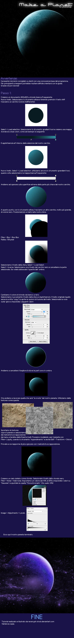 Make a planet Tutorial by Neveryph-stock