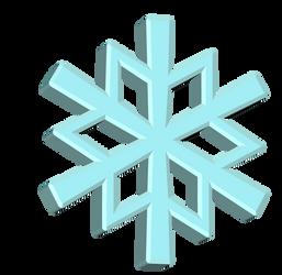 Snowflake 3D Render