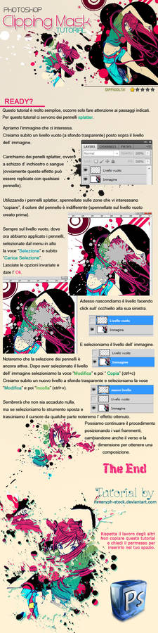 Clipping Mask Tutorial PS