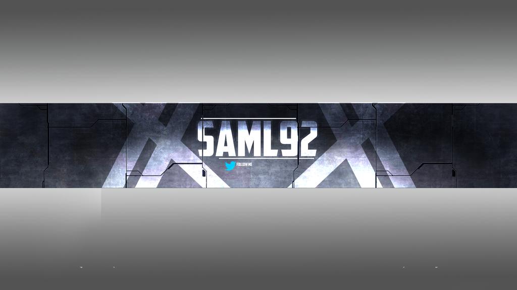 Saml92 yt banner by maxine9 on deviantart